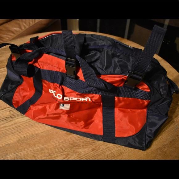 Vintage Polo Sport Ralph Lauren Duffle Bag. M 5a5e96e72c705d98431882b4 fbf8ccdcc2a48